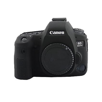 HelloPower - Carcasa de Silicona Suave para cámara Canon EOS 6D ...