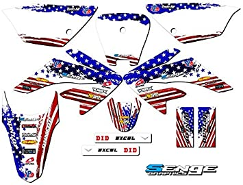 SCATTER Team Racing Graphics kit compatible with Honda 2013-2020 CRF 50