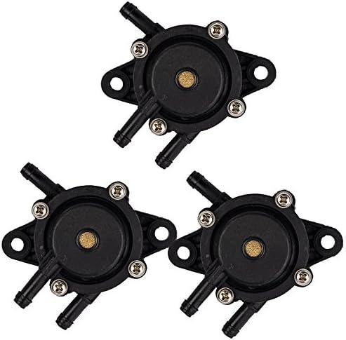 OxoxO Replace Fuel Pump for Honda 16700-Z0J-003 16700-ZL8-013 Briggs & Stratton 491922 808656 Kawasaki 49040-7001 Kohler 2439304S (Pack of 3)