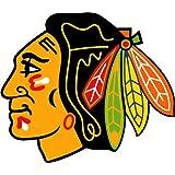 """Chicago Blackhawks NHL Hockey Car Bumper Sticker Decal 5"""" x 5"""""""