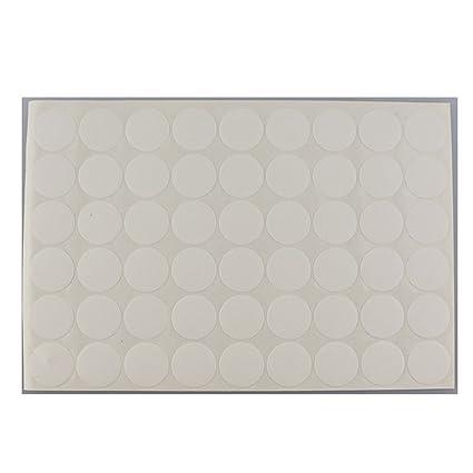 Pegatinas MyLifeUNIT para oficina, hogar, tapas para tapar orificios (1 hoja 54 tapas