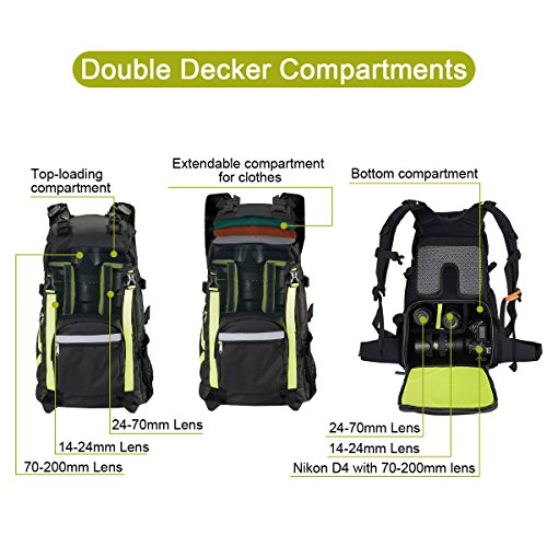TUBU-Camera-Backpack-for-Outdoor-Hiking-Shockproof-Waterproof-Fit-Laptop-DSLR-Cameras-and-Gears-6128