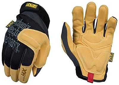 Mechanix Wear - Material4X Padded Palm Gloves (Medium, Brown/Black)