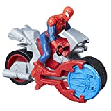 Spider-Man Marvel Blast N' Go Racer with Cycle