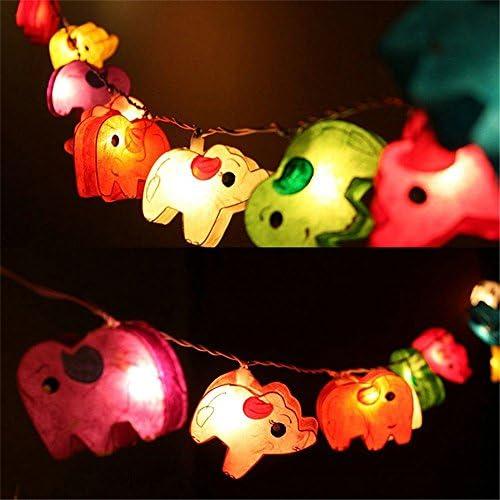 GZMAY Elephant String 20LEDs Holiday product image