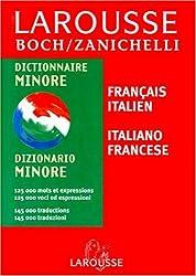 Larousse Zanichelli Minore : Italien/français, français/italien