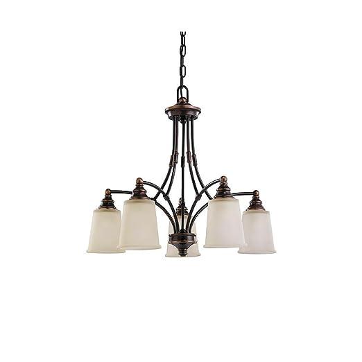 Amazon.com: Sea Gull Lighting 31333 – 715, Warwick vidrio ...
