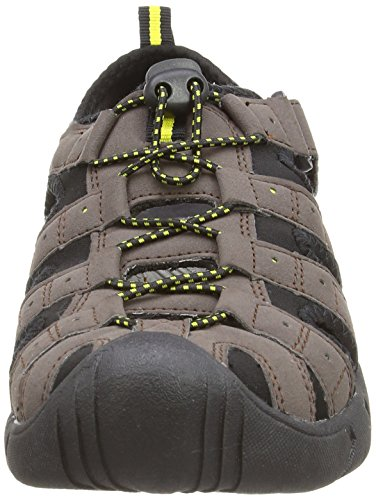 Gola Shingle 2 - Zapatos polideportivas al aire libre para hombre Dark Brown/Black/Sun