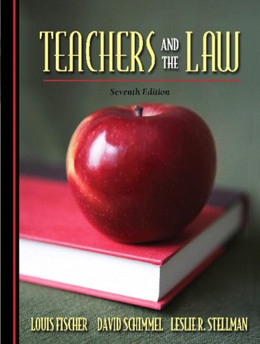 Teachers and the Law (7th Edition)