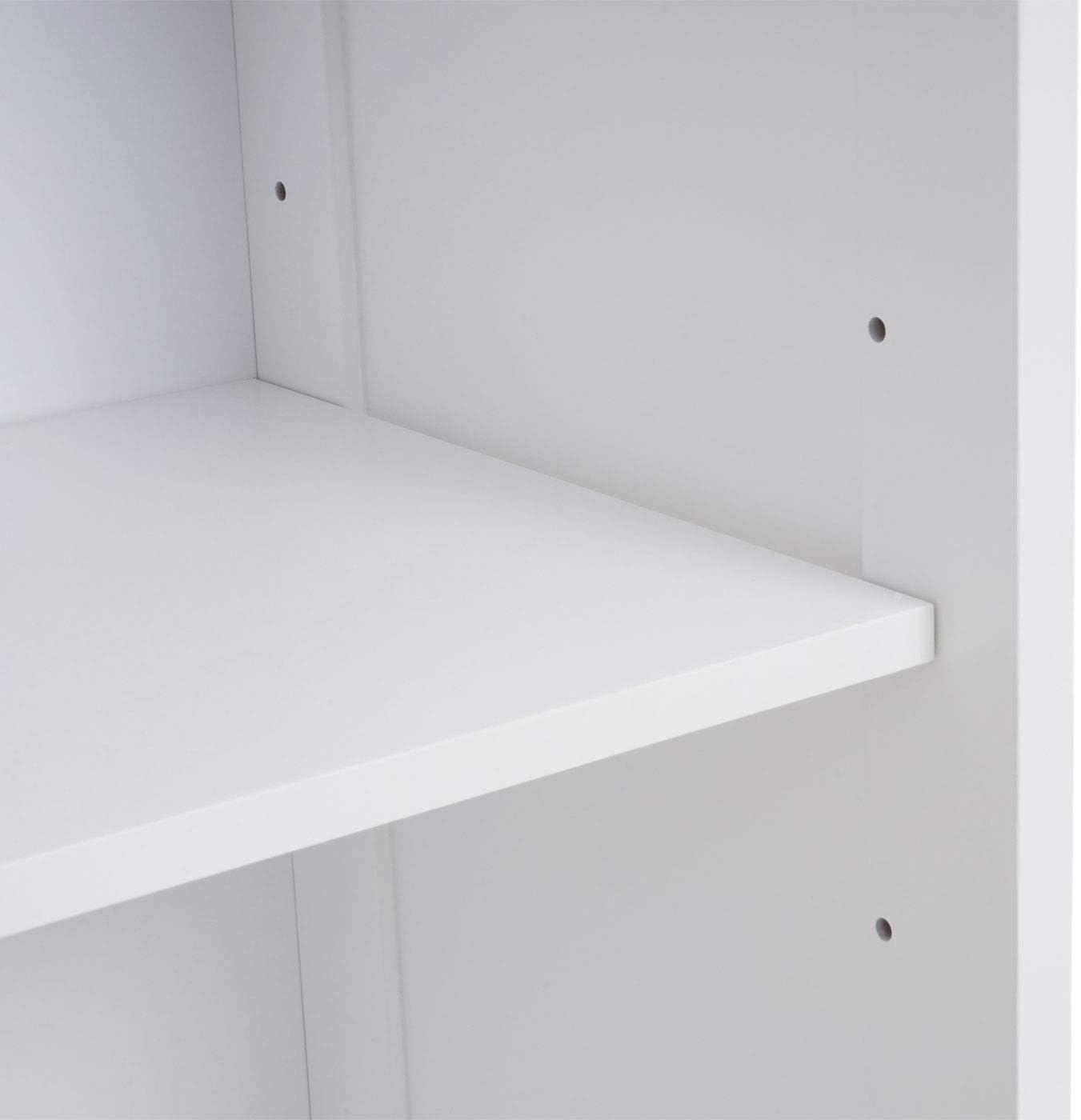 blanc 196x32cm Armoire haute de salle de bains HWC-C66
