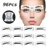 Best Eyebrow Stencils - 96Pcs Eyebrow Stencil Shaper, EBANKU 48 Pairs Eyebrows Review