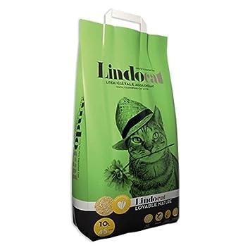 lindocat - Lovable vegetal Arena de maíz para gato - 6L: Amazon.es: Productos para mascotas