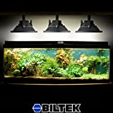 Biltek 100W LED Aquarium Flood Light COOL White High Power Fish Tank Lighting Reef Plant Decor Salt Fresh H2O Main Lighting, Sub Lighting, Fresh Water Tanks, Salt Water Tanks