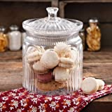 Davids Cookie Jars Best Deals - The Pioneer Woman Adeline Glass Cookie Jar - Clear