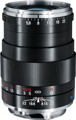 Zeiss 85mm f/4 Tele-Tessar T ZM Manual Focus Lens (Black) for sale  Delivered anywhere in USA