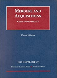 2002 Supplement to Mergers and Acquisitions: Cases and Materials (University Casebook Series)