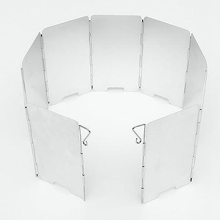 camtoa plegable aluminio protector de viento calor Reflector ...