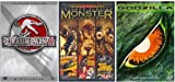 [Sci-Fi 5 Movie Pack] Gammera The Invincible (1965) / Night Of The Blood Beast (1958) / Attack Of The Giant Leeches (1959) / Godzilla (1998) / Jurassic Park 3