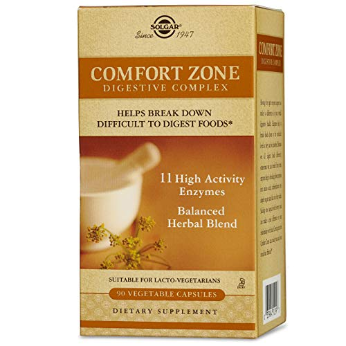 Solgar - Comfort Zone Digestive Complex, 90 Vegetable Capsules