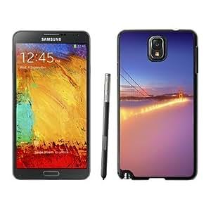 NEW Custom Designed For Iphone 5/5S Case Cover Phone With San Francisco Golden Gate Bridge Fog_Black Phone