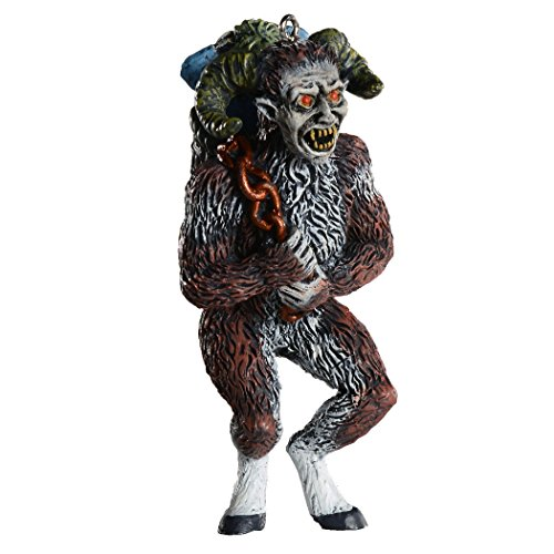Krampus Horror Ornament - Scary Prop and Decoration for Halloween, Christmas, Parties, and Events - By HorrorNaments ()