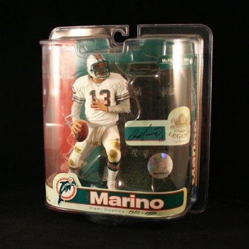 Dolphins Legend Series - DAN MARINO / MIAMI DOLPHINS McFarlane 6 Inch NFL LEGENDS SERIES 3 Sports Picks Action Figure