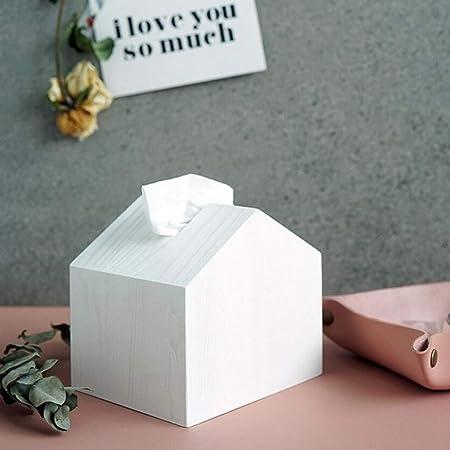 Llxxx Caja de pañuelos-Caja de pañuelos de Madera Caja de ...