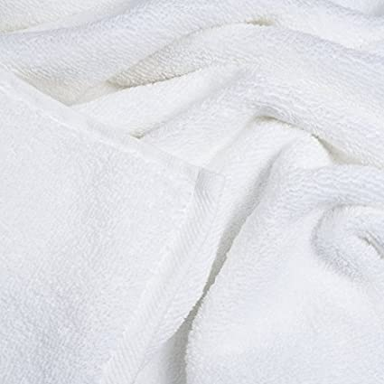 Orpheebs Wei/ß 660 g//m/² Verschiedene Gr/ö/ßen 100/% gek/ämmte Baumwolle und F/äden Twist Hotel Spa 1 St/ück, 100 x 150 cm Handt/ücher und Badetuch