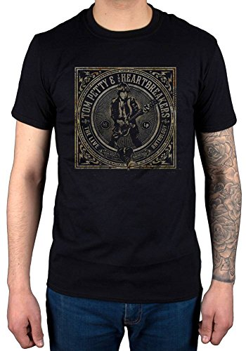 Official Tom Petty Live Anthology T-Shirt Black ()