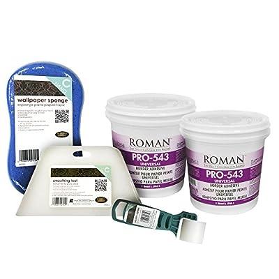 Roman 209921 2 quart Focal Wallpaper Universal Adhesive Kit