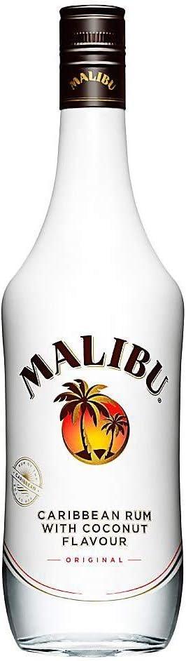 Malibu original del Caribe ron con coco Sabor 70cl (paquete ...