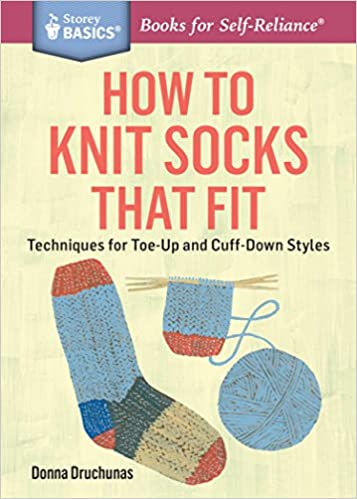 How To Knit Socks That Fit Techniques For Toe Up And Cuff Down