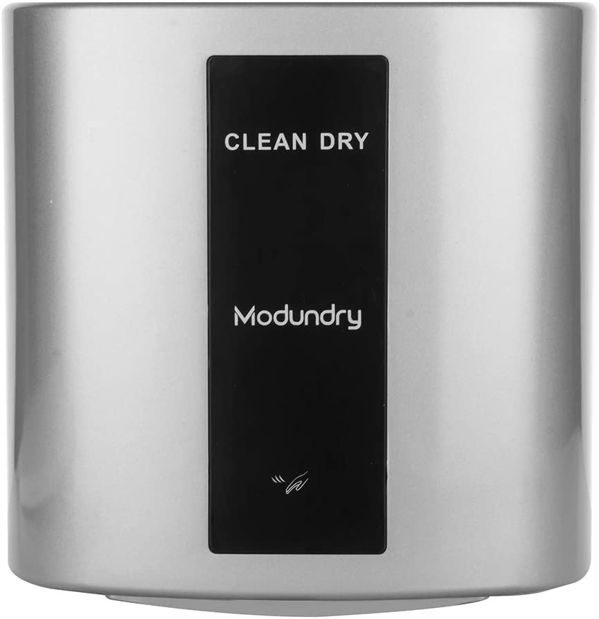 Mondundry Hand Dryers for Bathrooms Commercial 1200W -Automatic Infrared Sensor Hand Dryers for restrooms - Noise Reduction, Surface Mounted(Grey)