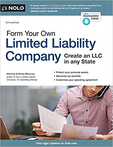 Form Your Own Limited Liability Company Anthony Mancuso Attorney