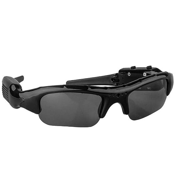 Fishtec Gafas de sol Cámara espía - Video/Audio/Grabaciones de fotos - Cómodo y liviano: Amazon.es: Ropa y accesorios