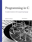 Programming in C (3rd Edition), Stephen G. Kochan, 0672326663
