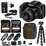 Canon PowerShot SX540 HS Digital Camera w/ 67mm Filter Kit & 48GB Bundle