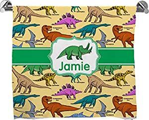 Dinosaurios Full impresión toalla de baño (personalizado)