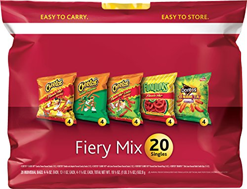 Frito Lay Fiery Variety Pack Count product image