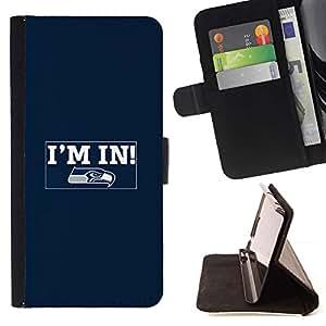 Momo Phone Case / Flip Funda de Cuero Case Cover - Estoy dentro;;;;;;;; - Apple Iphone 6 PLUS 5.5