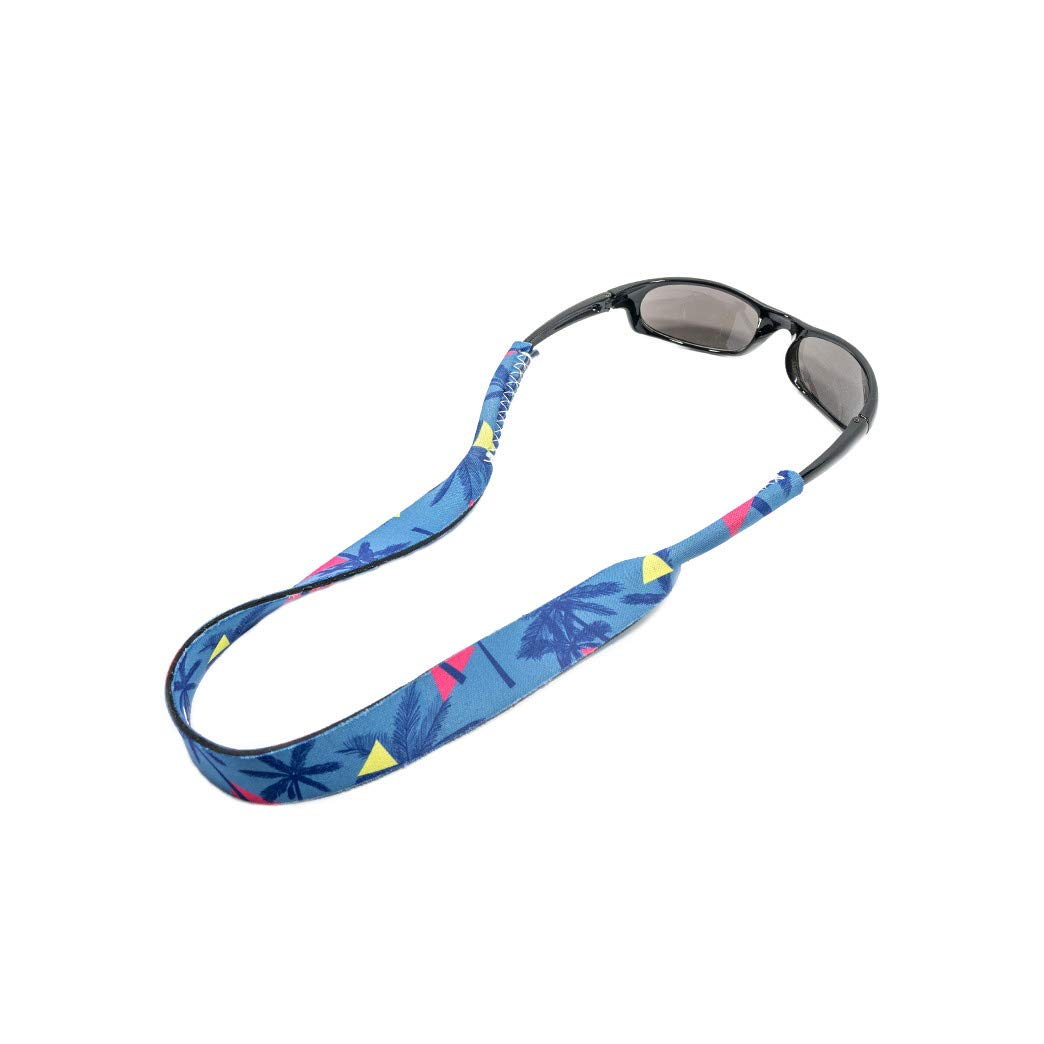 Ukes Premium Sunglass Strap - Durable & Soft Eyewear Retainer Designed with Floating Neoprene Material - Secure fit for Your Glasses and Eyewear. (The Getaways)