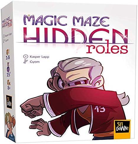 2Tomatoes Games- Magic Maze Juego Expansión Roles Ocultos, Multicolor (8.43702E+12): Amazon.es: Juguetes y juegos