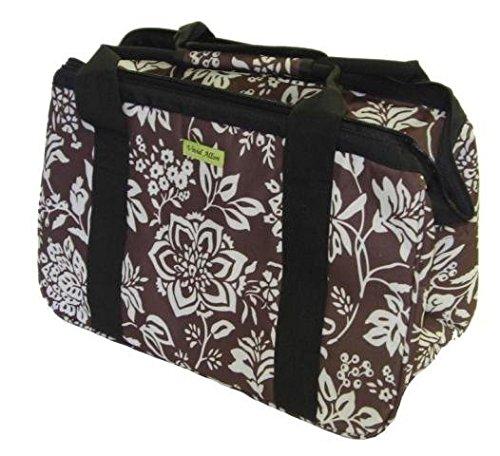Janetbasket Eco Bag-18x10x12 Blue Floral
