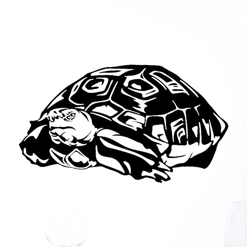 Wallsticker S Series Turtle NEW FASHION Vinyl Decal Art Wall Sticker (size) XS: 11.8 X 19.7in (High X Wide)