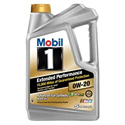 Mobil 1 Extended Performance 0W-20 is an advanced full synthetic engine oil designed to keep the engines running like new and protect critical engine parts for 15,000 miles between oil changes.
