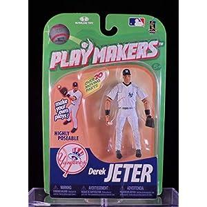 2010 Mcfarlane Playmakers Derek Jeter New York Yankees Action Figure Throwing