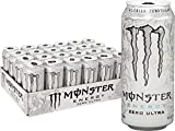 Monster Energy, Zero Ultra, 16 Ounce (Pack of 24)
