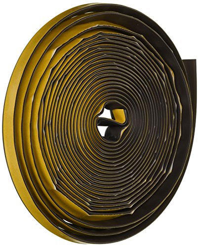 Frost King SS20BR Silicon Smoke Seal, 1/2in Wide x 1/4in Thick x 20ft Long, Brown