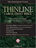 Thinline Large Print Bible, New International Version, English