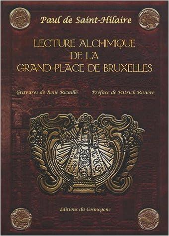 Book lecture alchimique de la grand place de bruxelles
